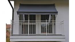 Angerer Klemmmarkise Style Anthrazit, 150 x 300 x 225 cm, 2302/262, Grau - 1
