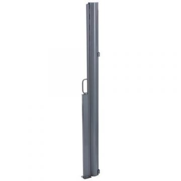 Brubaker Seitenmarkise Maui für Balkon und Terrasse - Ausziehbar - Aluminium - grau - 300 x 180 cm - 3