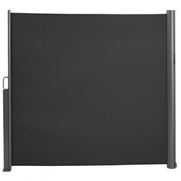 Brubaker Seitenmarkise Maui für Balkon und Terrasse - Ausziehbar - Aluminium - grau - 300 x 180 cm - 5