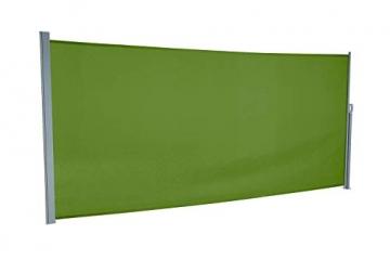 empasa Seitenmarkise Start Sichtschutz Sonnenschutz, Höhe 160 oder 180 cm, Länge bis max. 450 cm. - 2