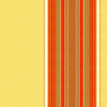 Jarolift Markise mit Volant - Gelenkarm Markisen f. Balkon / 250 x 150 cm/gelb/orange (2,50 x 1,50 m) - 2