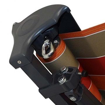 Jawoll Kassetten-Markise 4,0 x 2,5 m anthrazit (Profilfarbe: Anthrazit) Sonnenschutz Alu Markise Schattenspender Sonnensegel Hülsenmarkise Gelenkarm-Markise - 5