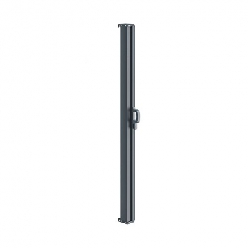 OSKAR Seitenmarkise Sichtschutz Sonnenschutz Seitenrollo Markise Anthrazit (180x350cm) - 8