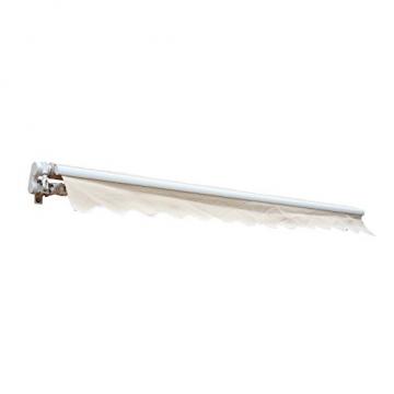 Outsunny Markise Alu-Markise Aluminium-Gelenkarm-Markise creme 400 x 300 x 160 cm - 6