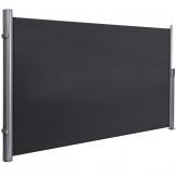 SONGMICS Seitenmarkise 200 x 350 cm (H x L) für Balkon und Terrasse, Sichtschutz, Sonnenschutz, Seitenrollo GSA205G - 1