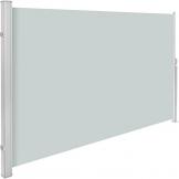 TecTake Seitenmarkise Sonnenschutz Sichtschutz Windschutz | Gehäuse und Standpfosten komplett aus Aluminium | - Diverse Farben und Größen - (Grau | 200x300cm | Nr. 401530) - 1